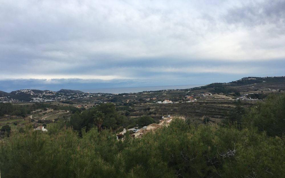 Parcela en Moraira con vistas al Mar