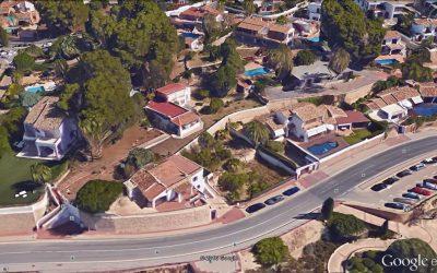 Dos parcelas en El Portet de Moraira con una Casa