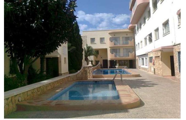 Vendo apartamento con piscina comunitaria en Calpe