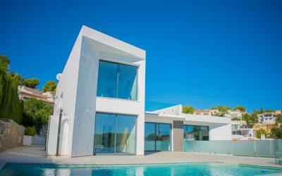 Se vende Villa de diseño en Benissa a 600m de la playa