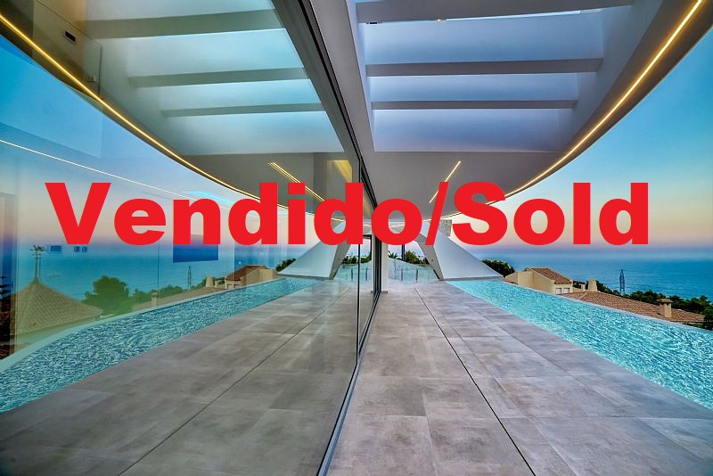 Se vende villa de diseño modero de Alto Standing en Altea Hills