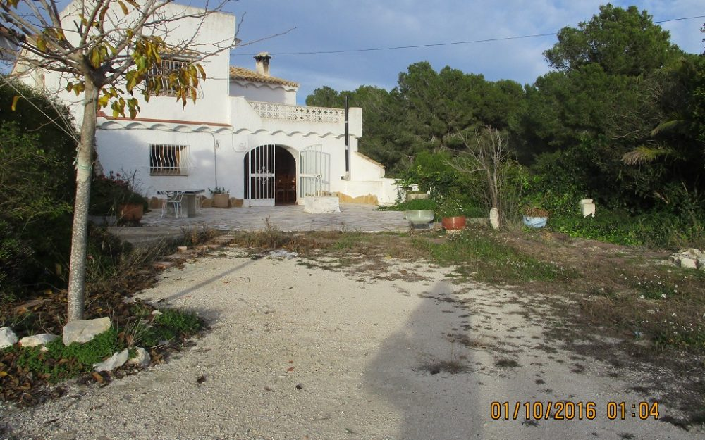 Se vende casa de campo en Teulada