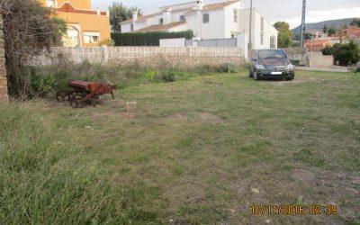 Se vende terreno en Gata de Gorgos