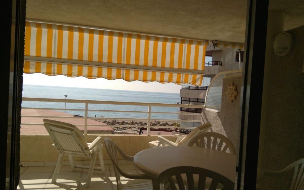 Se vende piso en Calpe en primera linea de la playa de la fosa