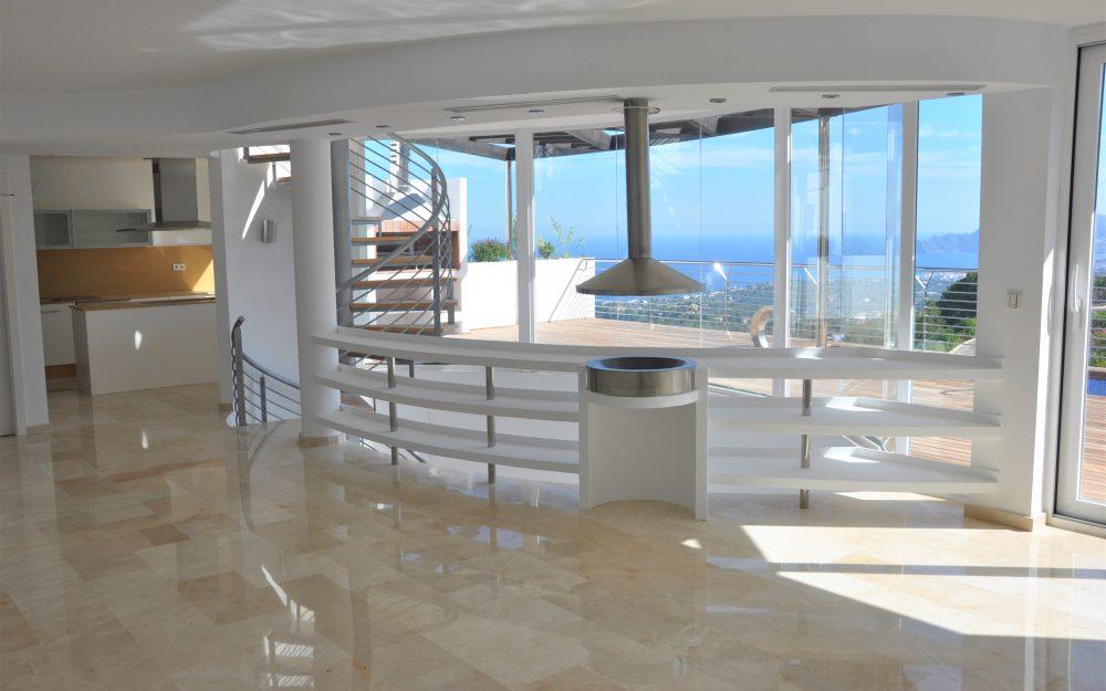 Se vende chalet con unas vistas impresionantes al mar en Altea