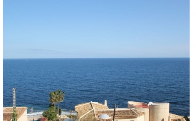 Se vende parcela a 1km de Calpe en 2º linea de playa