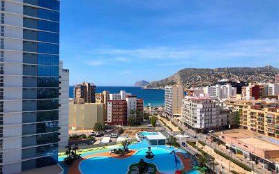 Se vende apartamento con vistas al Mar en Calpe
