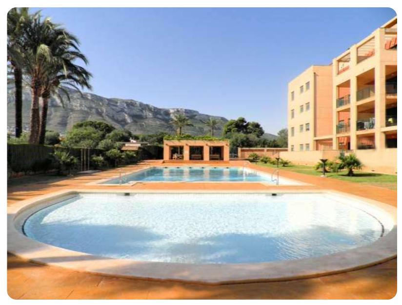 Se vende apartamento en la exclusiva zona de Les Rotes Dénia